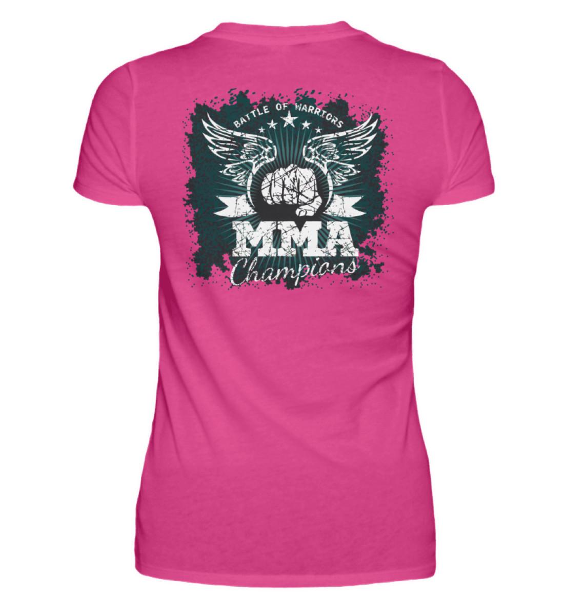 COMA Team - MMA Champions - Damen Premiumshirt-28