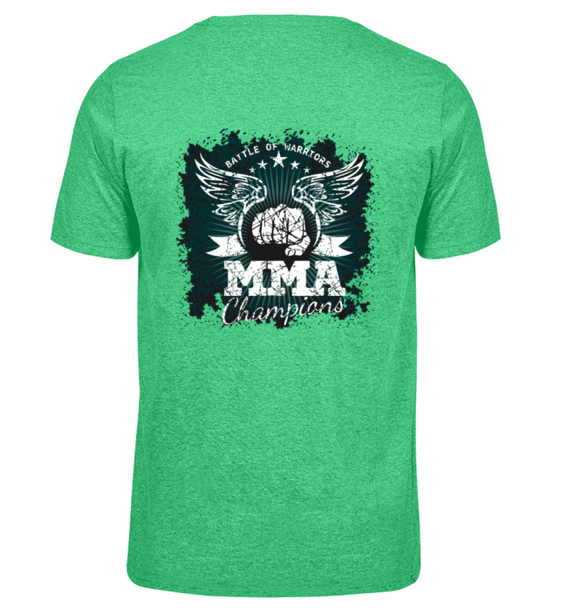 COMA Team - MMA Champions - Herren Melange Shirt-6804