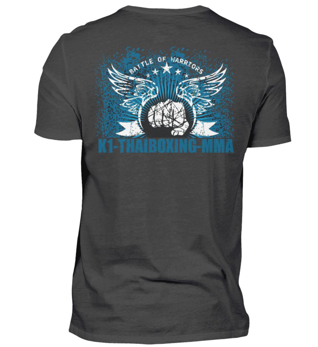 COMA Team K1, Thaiboxing-MMA T-Shirt - Herren Premiumshirt-2989
