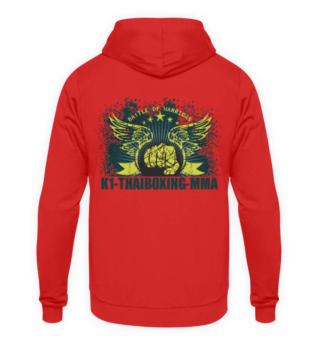 COMA T-Shirt K1-Thaiboxing-MMA - Unisex Kapuzenpullover Hoodie-1565