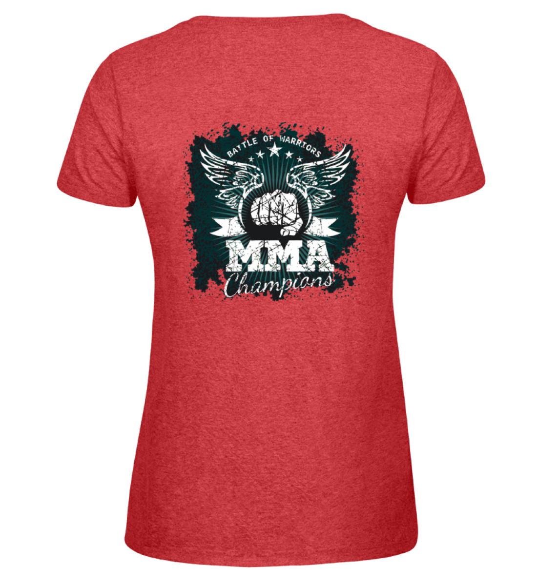 COMA Team - MMA Champions - Damen Melange Shirt-6802